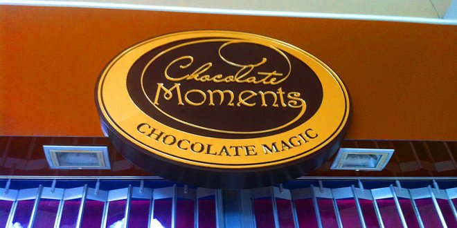 Brisbane Chocolate Moments 3D Corporate Signage