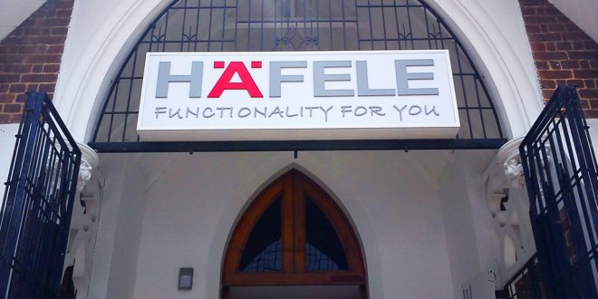 Hafelle Functionality For You Corporate Signs
