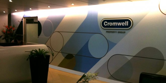 Cromwell Property Group Corporate Signs