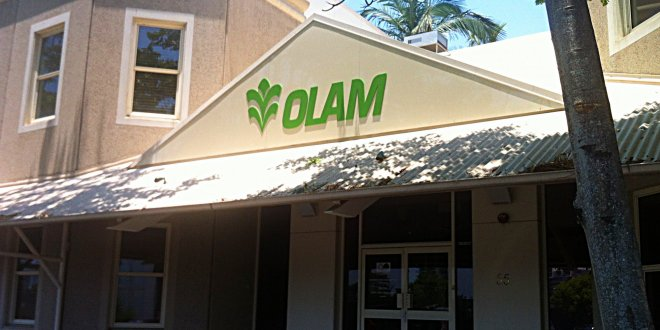 Creative 3D Engraved Olam Sign